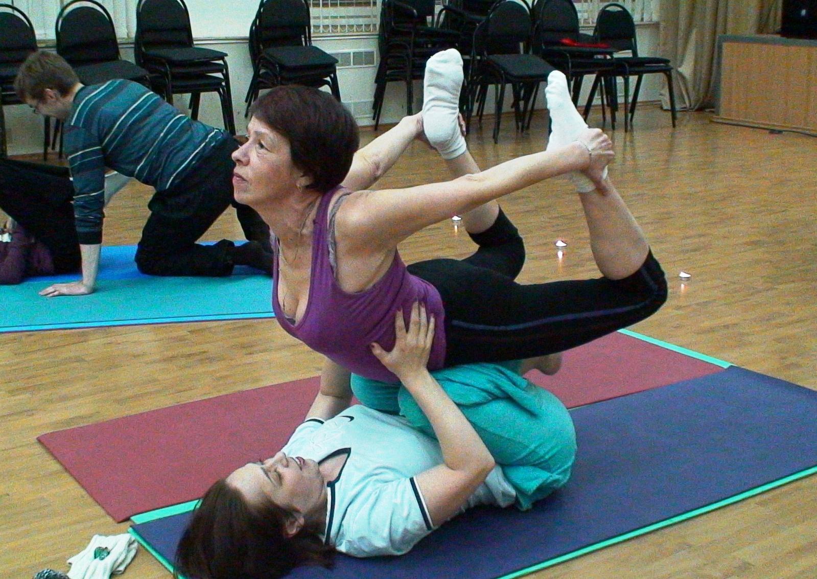 Семинар Парная йога 18.02.2012