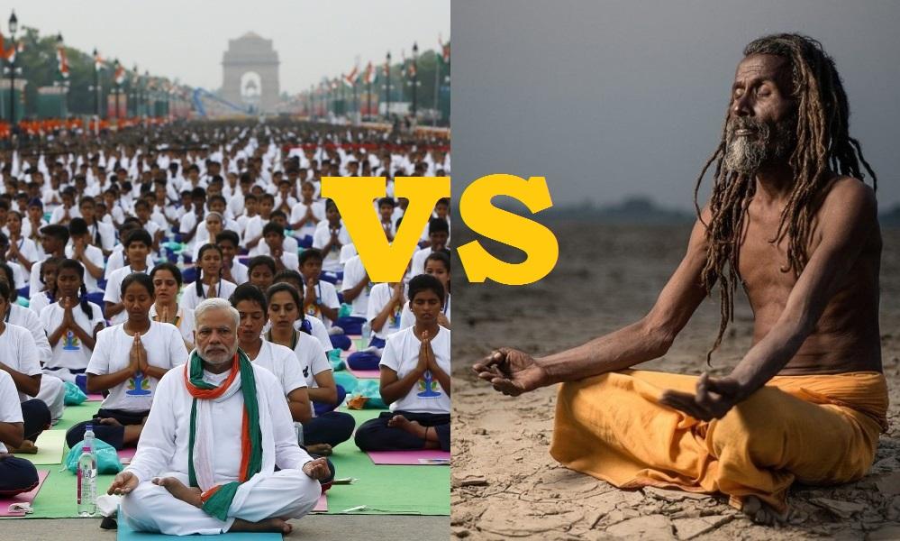 йога и массовость.